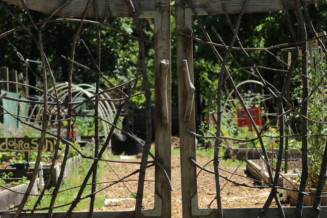 Whimsical garden gates pre-Camp Fire