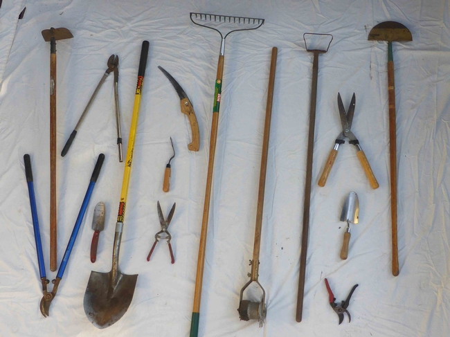 Tools that need cleaning,  J.C. Lawrence