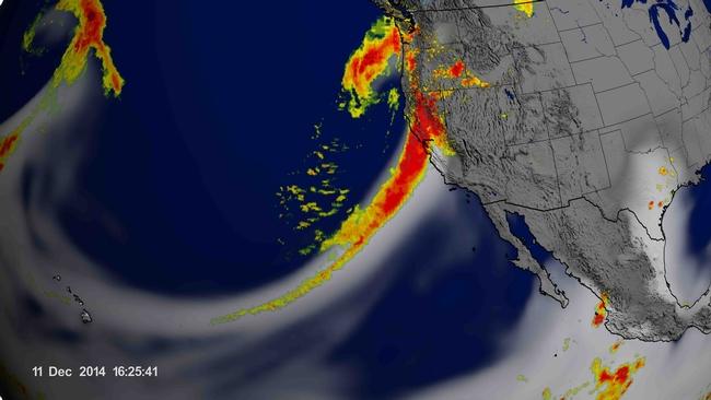 Atmospheric river, NASA 12-11-2014