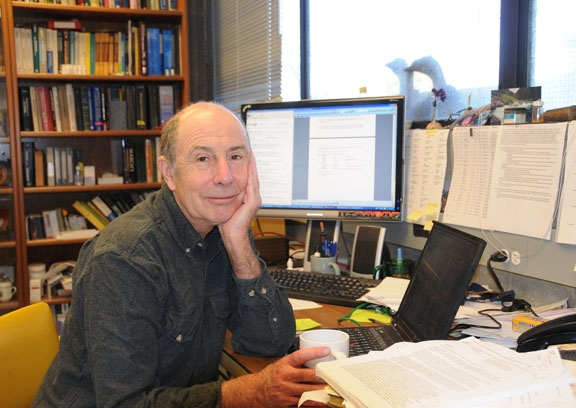Bruce Hammock is taking his research from the bench to the bedside. (Photo by Kathy Keatley Garvey)