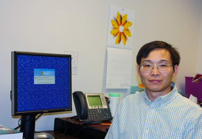 Lead author Yigen Chen, research entomologist with the UC Davis Department of Entomology and Nematology.