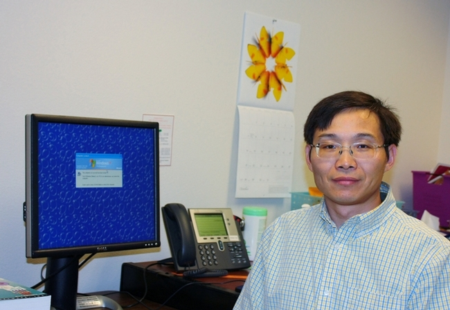 Yigen Chen will open the department's fall seminar series with a seminar on Wednesday, Oct. 1 on