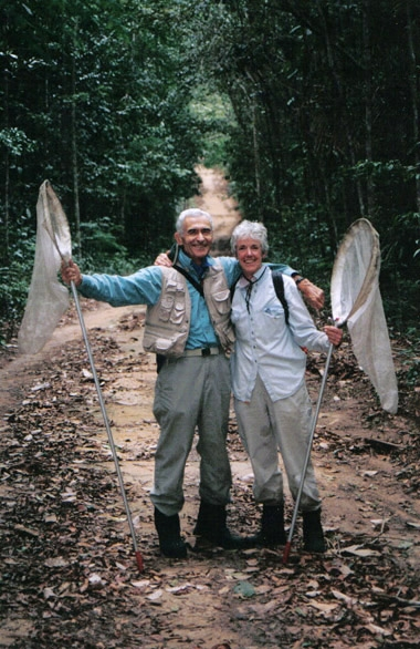 Maurice and Catherine Tauber in Brazil