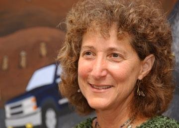 Diane Ullman, teaching recipient (Photo by Kathy Keatley Garvey)