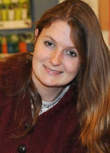 Kelly Hamby, Comstock award recipient (Photo by Kathy Keatley Garvey)