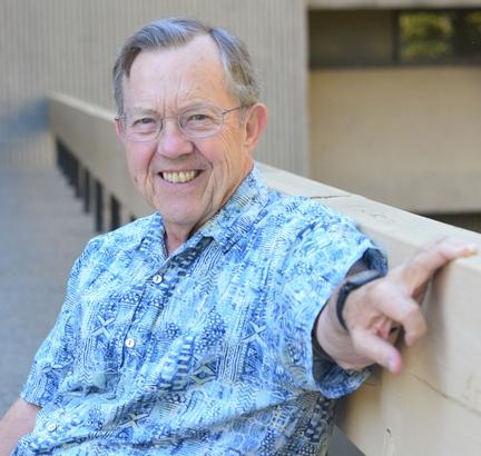 Hugh Dingle has received the UC Davis Edward A. Dickson Professorship Award. (Photo by Kathy Keatley Garvey)