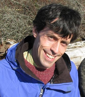 Bee research scientist Jay Evans