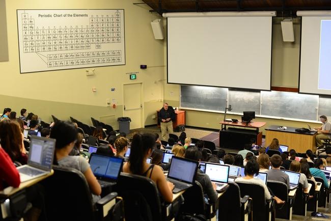 James Carey teaching a UC Davis chemistry