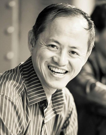 """Weidong Yang,  the founder of Kinetech Arts, a non-profit dance and science company, will discuss """"Dancing with Data"""" from 8:10-8:35."""