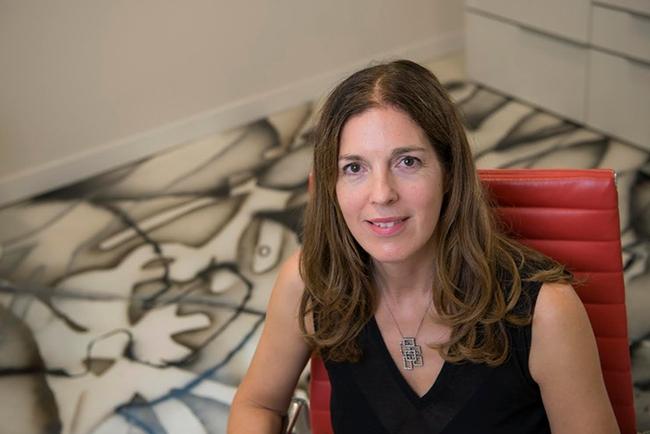 Molecular neurobiologist Leslie Vosshall of Rockefeller University.