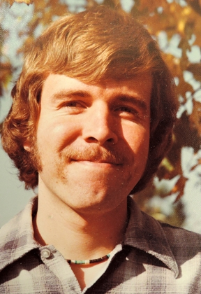 Frank Zalom as a graduate student at UC Davis. He received his doctorate in 1978.