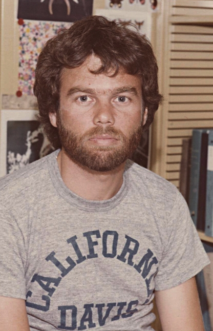 Rob Page as a PhD student at UC Davis