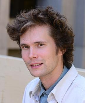 Lead author Charlie Nicholson