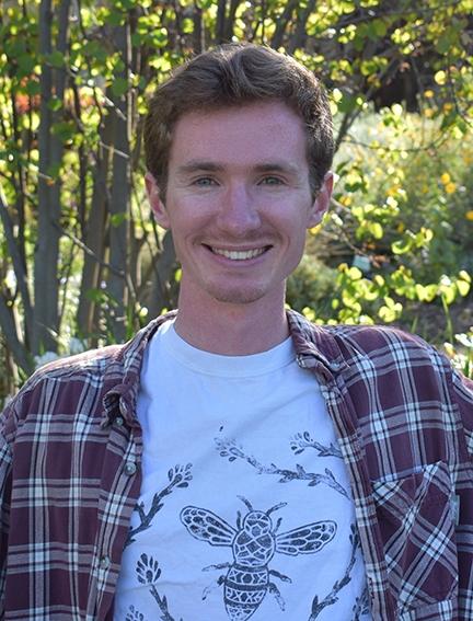 Garrett Keating, recipient of  Department Citation from the UC Davis Department of Entomology and Nematology for outstanding work.