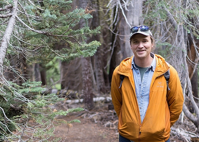 Postdoctoral researcher Marshall McMunn of the Vannette lab received a USDA-NIFA fellowship to research