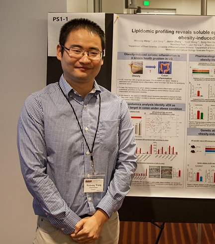 Weicang Wang, a postdoctoral scholar in the Bruce Hammock lab, is co-lead author of the paper.