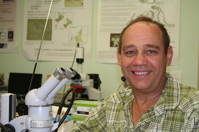 A co-author is research entomologist Anthony Cornel  of the Mosquito Control Research Laboratory, Kearney Agriculture and Extension Center and UC Davis Department of Entomology and Nematology. (UC ANR Photo)