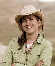 Paleoecologist Ellen Currano