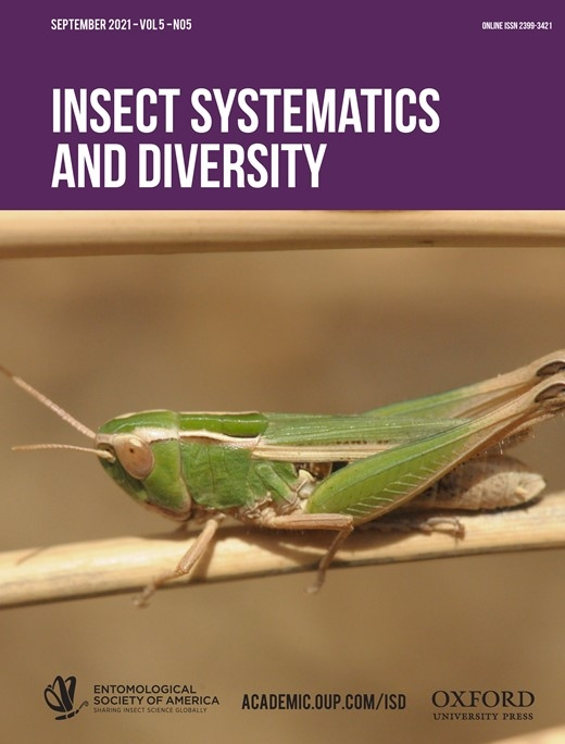 Current edition of Insect Systematics and Diversity