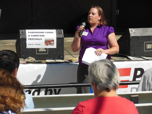 Kari Dodd at Shasta District Fair