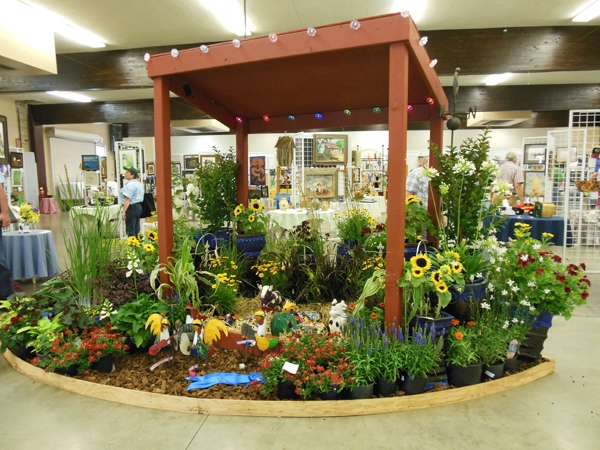 Commercial Nursery exhibit - Shasta District Fair