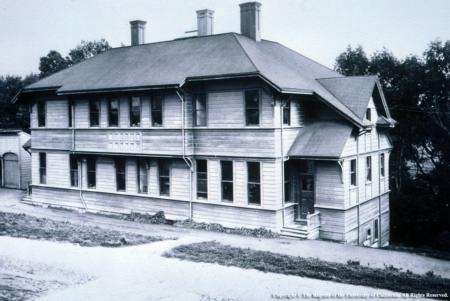Hilgard Hall at UC Berkeley was the first UC experiment station.