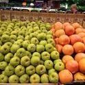 The produce aisle is a good place to
