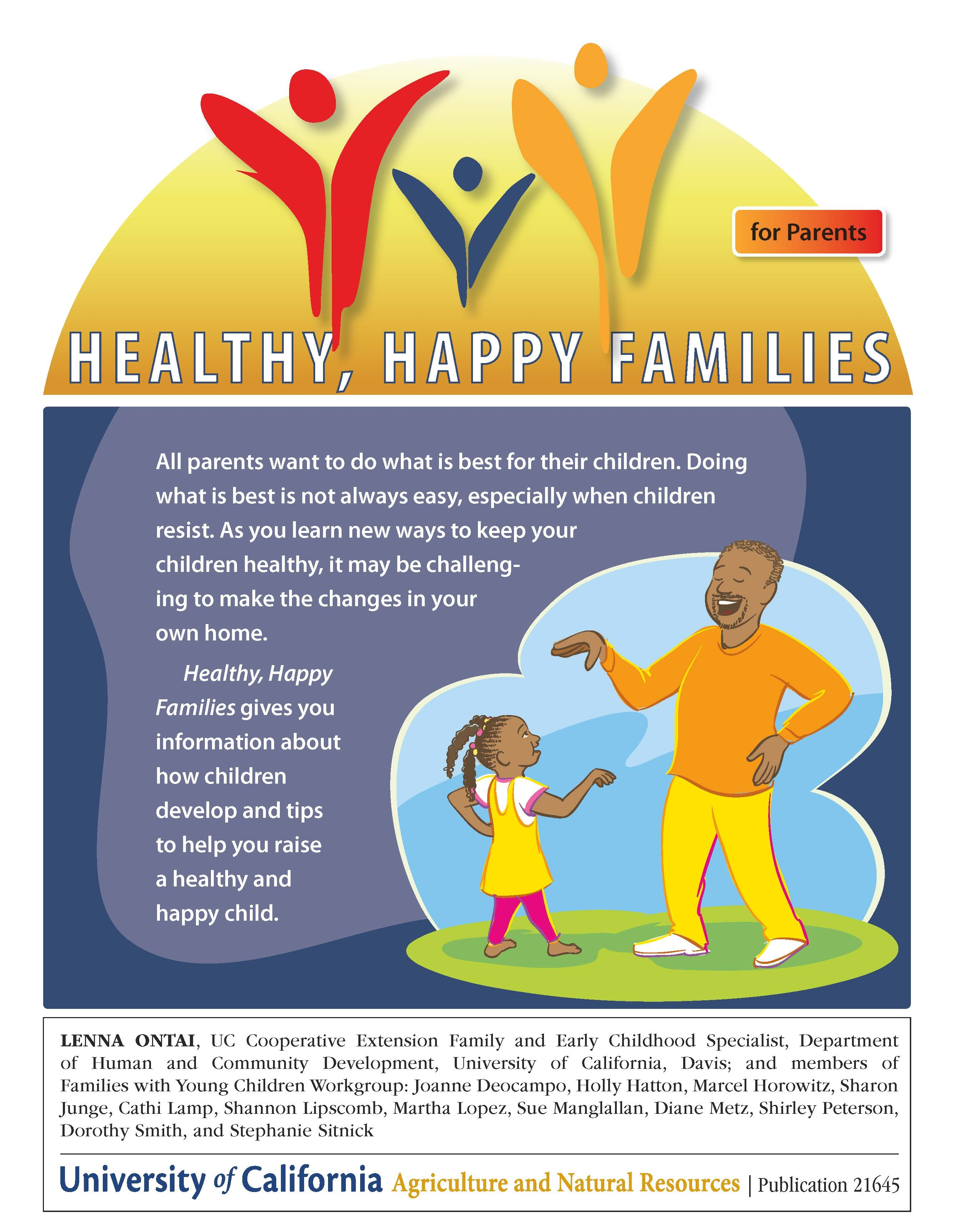 Parents can make healthful eating fun for kids Food Blog ANR Blogs