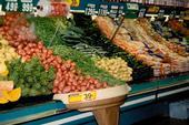 Supermarket produce.