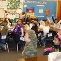 Children get UC CalFresh training.