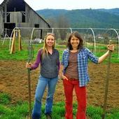 The farmers of Five Foot Farm.
