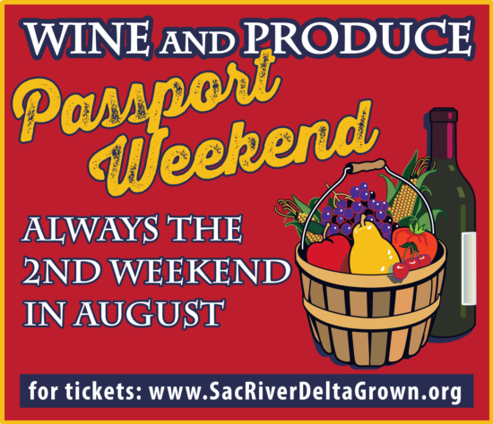 wine and produce poster