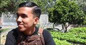 Steven Palomeres, former intern at WOW farms in West Oakland shares his experience in urban farming