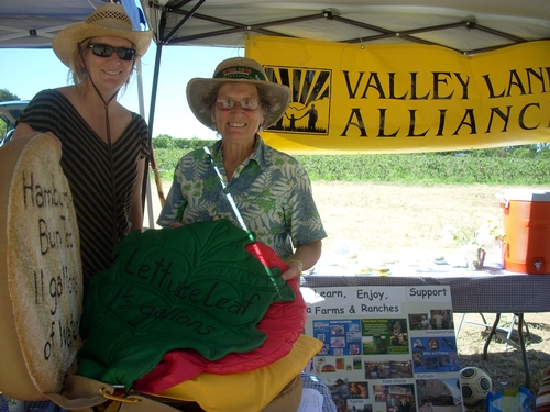 Valley Land Alliance booth