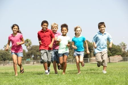 Children should get 60 minutes a day of exercise.
