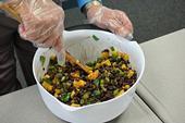 UC CalFresh mango and black bean salad