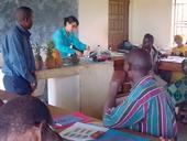 thumbnail: Karin Albornoz leads a workshop in postharvest handling of pineapple in Uganda.