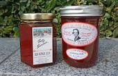 Farmer Paul Buxman says his Sweet Home Ranch jam (right) is so addictive, it's 'barely legal.'