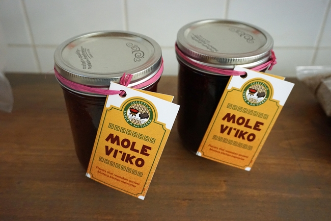 Two Oaxacan women in Madera are marketing their traditional mole in addition to running a small restaurant inside a grocery store.