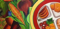 A mural designed to inspire kids to choose more fruits and vegetables will be unveiled at Burbank Preschool Feb. 23, 2018. for Food Blog Blog