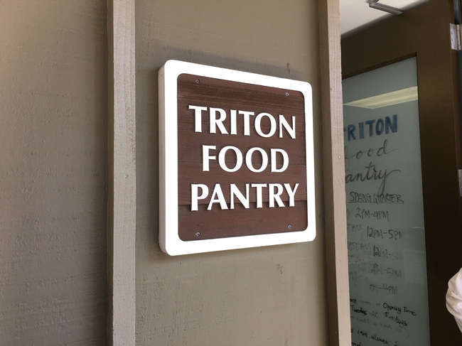 Triton Food Pantry was started in 2015 with funding from the Global Food Initiative. The pantry serves 600 UCSD students on average every week, and served a total of 10,000 student visits in academic year 2016-2017.