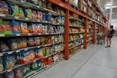 Chips are found in many places inside grocery stores.