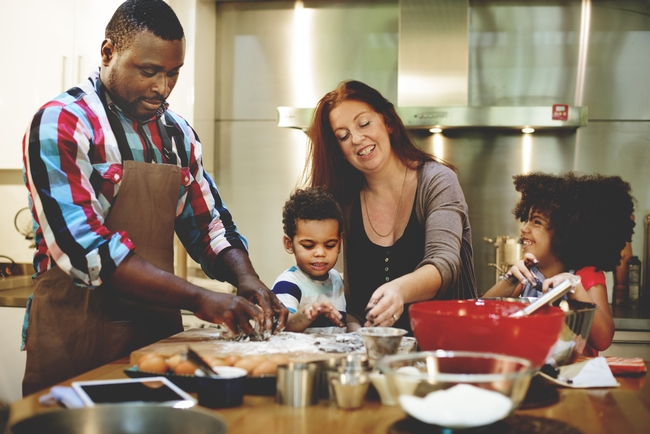 Families that prepare meals at home eat a healthier diet.