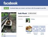 Screenshot of Suki the ranch dog's account in Facebook.