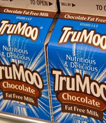 Kids still drink milk when chocolate milk is pulled from the menu