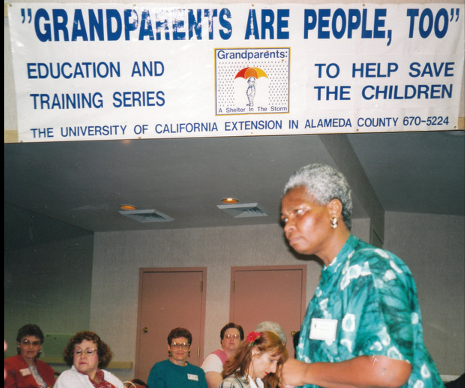 In the 1990s, Mary Blackburn recognized the special needs of grandparents who were raising grandchildren and began offering training to reduce isolation and enhance their nutrition, health and well-being.