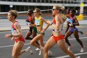 Disordered eating, chronic menstrual disturbances and low bone mass have been associated with high-level competition among some female athletes. Photo by woowoowoo/Flickr.com