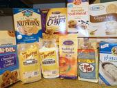Photo: A wide variety of gluten-free items from the grocery store.