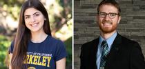 UC Berkeley senior Anna Rios and UC Davis doctoral student Conor McCabe are UC ANR's Global Food Initiative Fellows for 2021-22. for Food Blog Blog
