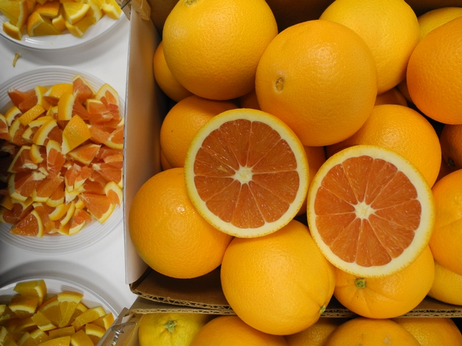 Cara Cara is the variety of navel oranges currently most commonly planted in California. Photo by Beth Grafton-Cardwell